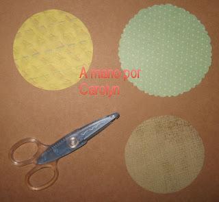Carolyn tutoriales tarjeta en forma de circulo for Cuarto de xime ponch
