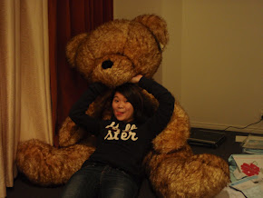 Big big teddy bear in melby humble abode