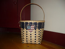 Americana Tall Basket