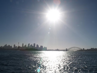 Sydney Harbour controsole