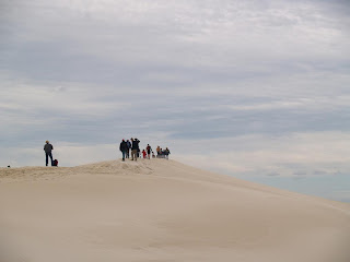 Il walking club di Kangaroo Island sulle dune di Little Sahara