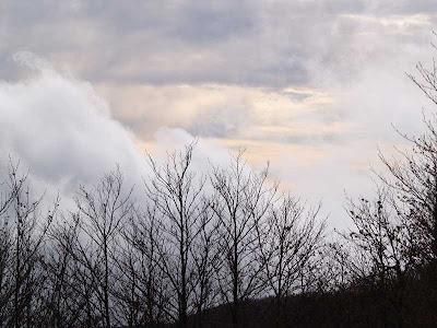 Nubi autunnali sul Monte Falco