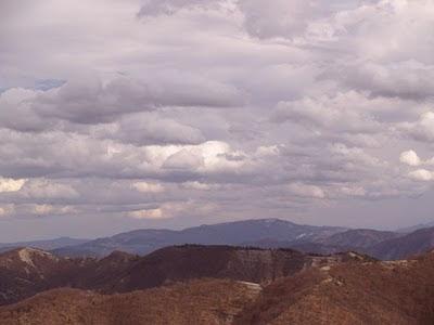 Monte Comero e sullo sfondo Sasso Simone