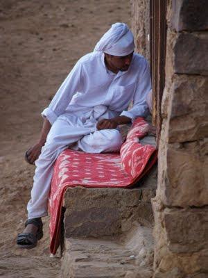 Deserto del Sinai: cammelliere
