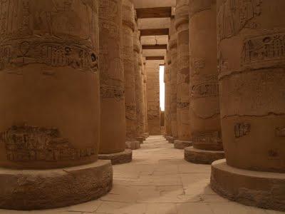 Tempio di Karmak: sala ipostila