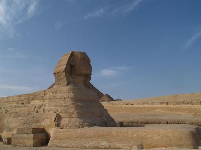 Giza: sfinge