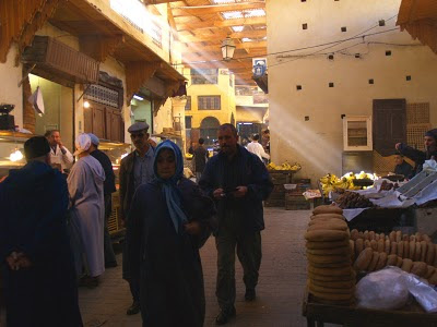 Fes: mercato nella medina