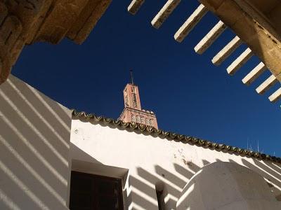 Tangeri: minareto della città nuova