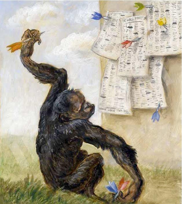 Image result for monkey dart board stocks