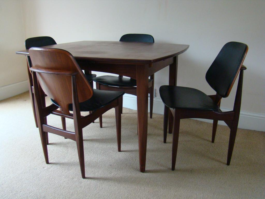 we have a set of six 1960s danish dining chairs by hovmand olsen