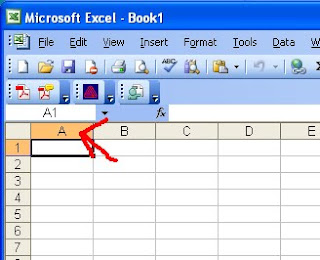 Crochet Pattern Excel : ChemKnits: How to Make a Knitting Chart in Excel (Part 1 ...