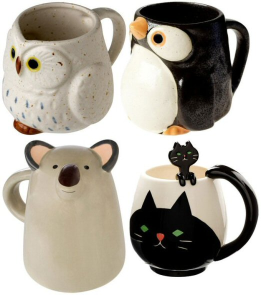 Coffee Mug Shaoled Like A Cat