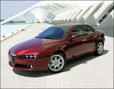 Alfa Romeo 159's and spunky Fiat 500's