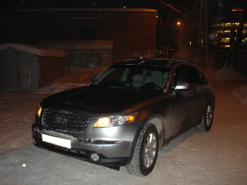 Картинки машины инфинити зимой