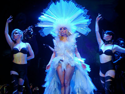Photo of Lady Gaga at her amazing Monster Ball Tour concert in Liverpool