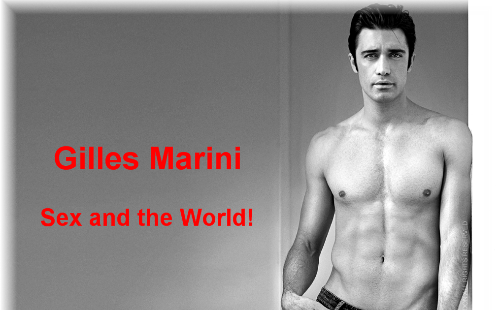 Gilles Marini in Sex and the City 2008 naked guys in
