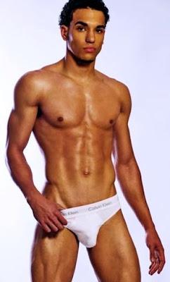 ... in revealing Calvin Klein tighty whities underwear shorts photo