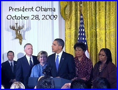 Obama addresses his constituents about the Matthew Shepard Hate Crimes Act. ...