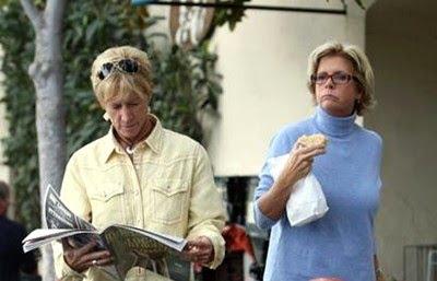Nancy Locke And Meredith Baxter