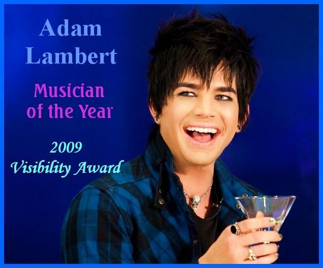 ADAM LAMBERT MUSICIAN OF YEAR, LOGO GAY ICON AWARD! NEW intact VIDEOS: LENO,