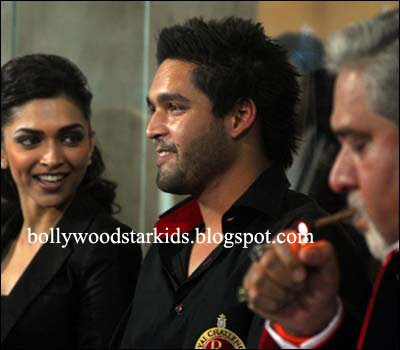 siddharth mallya mother. Vijay Mallya and his son Siddharth with Deepika Padukone at one of the VIP