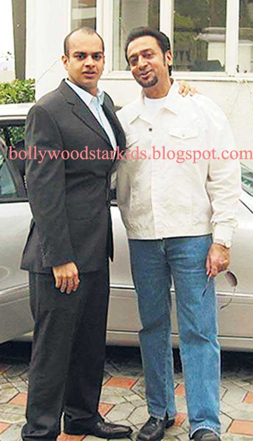 Gulshan Grover Bollywood Star Kids Gulshan Grover With son Sanjay Who Works with