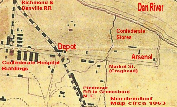 Arsenal Explosion Danville Va 1865