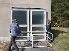 door renovated