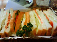 トーストじゃない野菜サンド