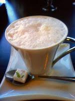 ヘーゼルナッツのカフェラテ
