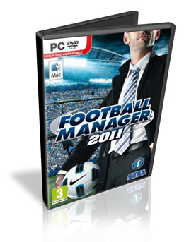 Download PC Football Manager 2011 + Tradução + Crack RIP v11.1.0