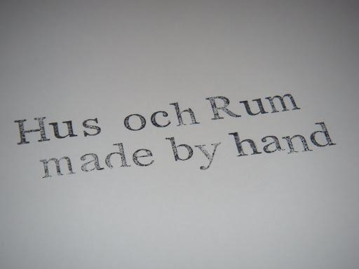 Hus och Rum Shop