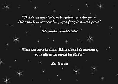 La tête dans les étoiles*: De jolies citations