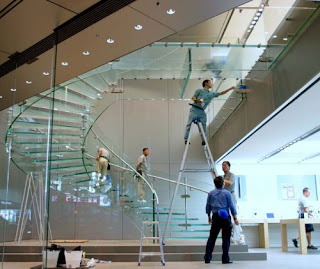 Glass Stairs Design Inspiration, Creative Feel to Your Space