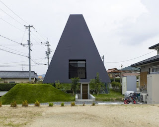 Pyramid Shaped House by Suppose Design Office