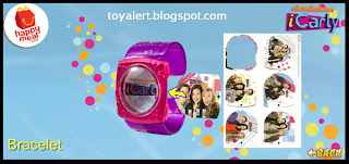 McDonalds iCarly happy meal toys - Bracelet