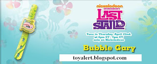Burger King Toy Watches - Spongebob's Last Stand Toys - Watch Giveaway 2010 - Bubble Gary watch