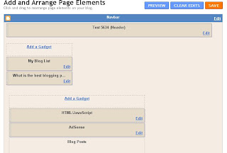 Edit Blogger Layout Page Elements Blogger Posts Section