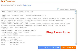 Best Way to Add Meta Tags to Blogger Blogspot Blog