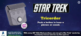 Burger King Star Trek Kids Meal Toy Promotion 2009 - Tricorder