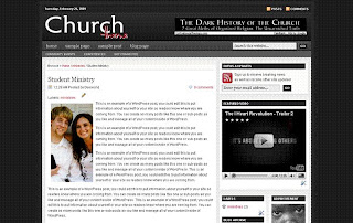 Revolution Church Updated Simple Version 1 - Best Free Blogger Template
