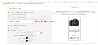 Add Amazon Product Links to Blogger Tutorial - Customize Link