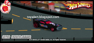 McDonalds Hot Wheels Toys 2009 Promotion - Nitro Doorslammer Racing Car