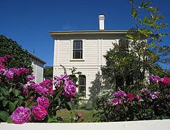 Katherine Mansfield Birthplace, Tinakori Road, Wellington, New Zealand is designated an historic place and is open to the public