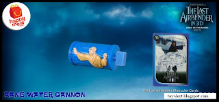 McDonalds Last Airbender Happy Meal Toys - Aang Water Cannon