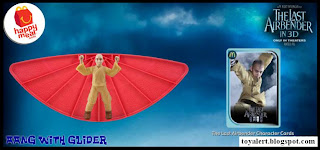 McDonalds Last Airbender Happy Meal Toys - Aang with Glider