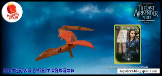 McDonalds Last Airbender Happy Meal Toys - Slithring Spirit Dragon