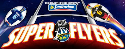 Sanitarium Rebel Sport Super 14 Super Flyers Rugby Cards Promotion 2010