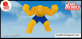 McDonalds Marvel Heroes Happy Meal Toys 2010 - The Thing