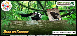 McDonalds Endangered Animals Happy Meal Toys 2010 - Andean Condor